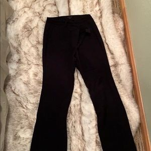 Raleigh black barely boot Talbot pants size 12